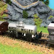 Wagon citerne Marcel Millet HO-1/87 Fleischmann