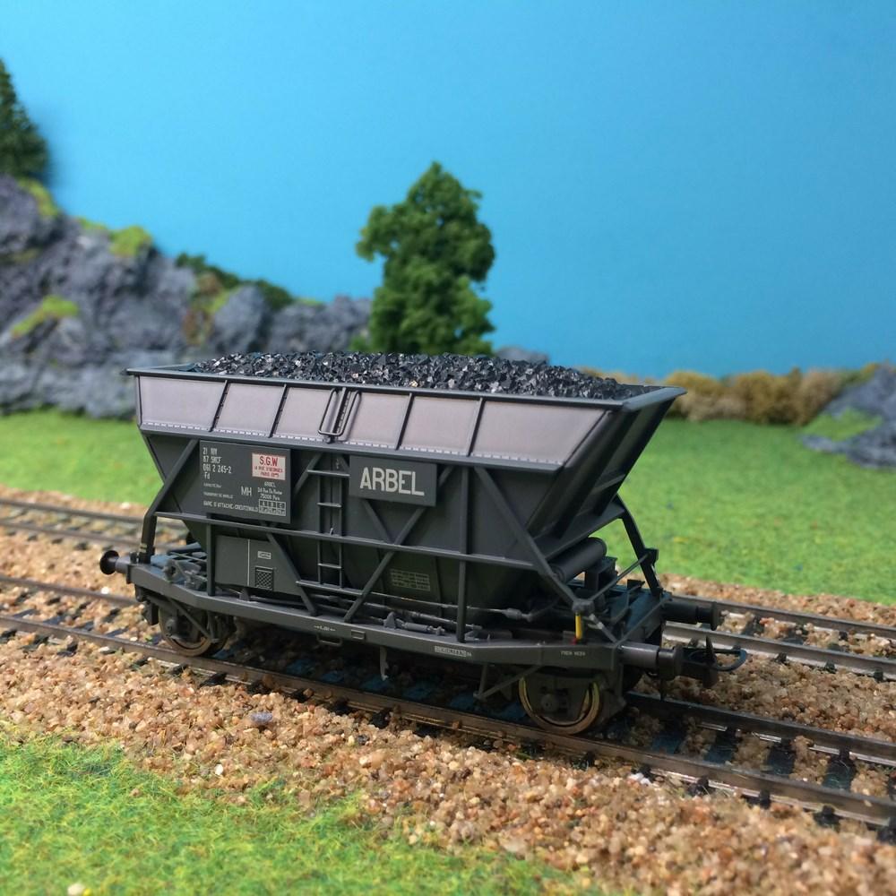 Wagon trémie EF30 Arbel sncf-HO-1/87 Jouef