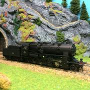 Locomotive vapeur 150C824 ep III HO-1/87 Jouef HJ2194