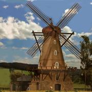 Moulin à vent HO-1/87 Kibri
