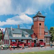 Caserne de pompiers HO-1/87 Vollmer