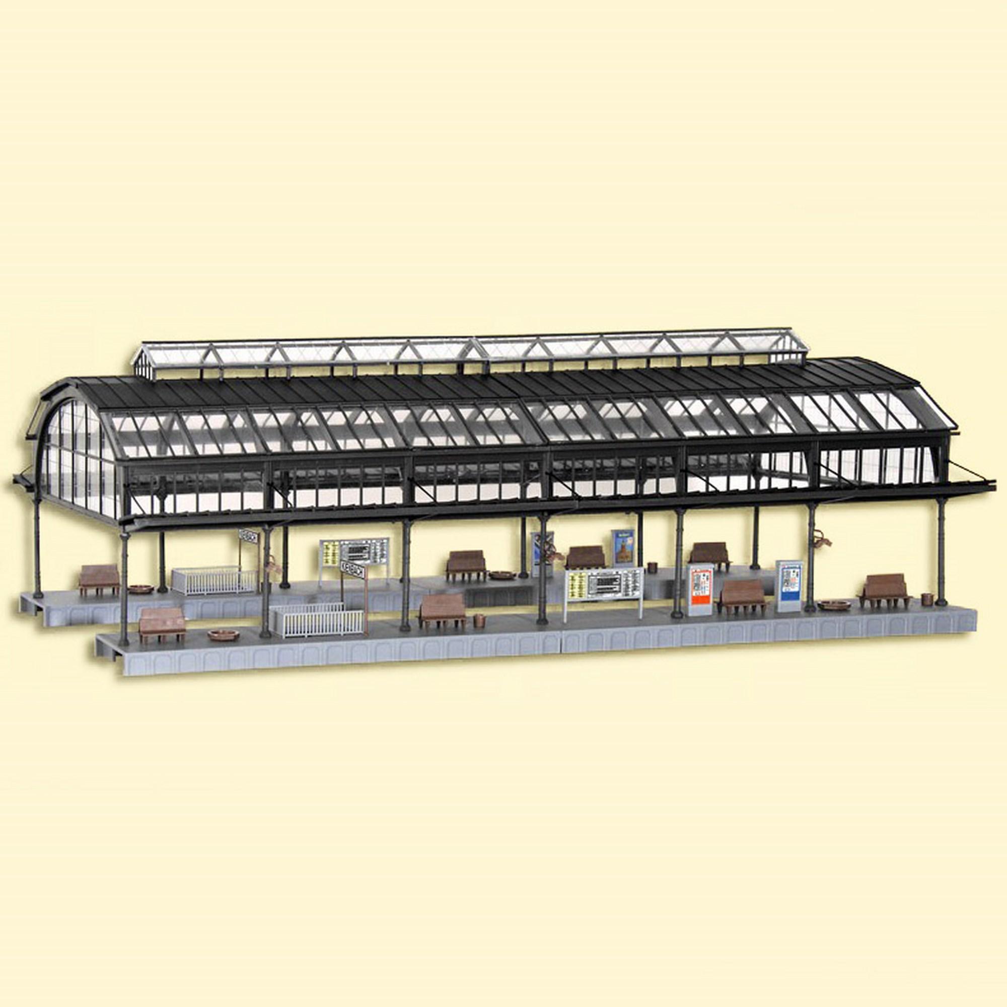 Verrière de Gare Kibri - HO 1/87